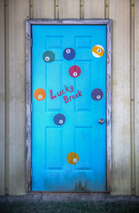 Lucky Break (donnieking1811) Tags: tennessee manchester door doors billiards blue canon 60d