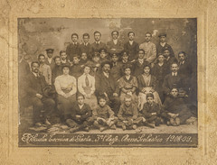 Scuola tecnica Gaeta 1908-9 (Robert Barone) Tags: 1908 gaeta italiani italians italy vintage famiglia family fotodepoca latina lazio group