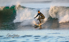 Surf's Up (Calum Gladstone) Tags: embleton bay surfing sigma 150600mm canon70d