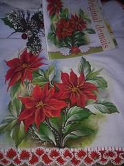 15171033_1612955715383578_2917480773454346673_n (jovanapinturas) Tags: pinturasjovana pinturas em tecido artesanato artes artes decorativas casa decorao tecidos toalhas decoradas fraldas panos decorados pintura pano