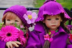 Blumenkinder ... (Kindergartenkinder) Tags: dolls himstedt annette kindergartenkinder essen park gruga herbst sony ilce6000 milina sanrike personen kind