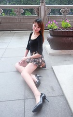 IMG_8339 (c0466art) Tags: lovely pretty taiwan girl irene lin  good figure long legs charming gorgeous rain day outdoor portrait light canon 1dx c0466art