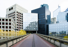 La Défense (David Khutsishvili) Tags: davitkhutsishvili dkhphoto paris france îledefrance la défence urban urbex exploration city cityscape architecture reflection nikon d5100 1855mm instagram 500px simple building district business metropolitan capital hautsdeseine empty construction blue