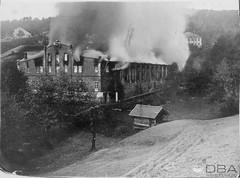 THB-1995-4f (dbagder) Tags: arbeidsliv bedrift brann bygning hendelse høiefabrikker kristiansand vestagder norway nor