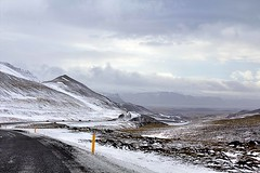 Heading South (Andres Thorarinsson) Tags: iceland sland winterroad rskuldar