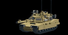 M1A2 Abrams (1) (Corvin Stichert) Tags: tank lego main battle m1a2 abrams tusk