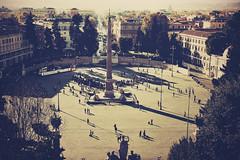 empire ants (TIBBA69) Tags: street people rome roma colors canon vintage eos strada persone colori piazzadelpopolo 500d popolosquare empireants andreatiberini