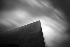 Angular fever...... (Chrisconphoto) Tags: longexposure blackandwhite bw movement angles le angular weldingglass