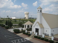 """Aerial view of Gaslite Chapel • <a style=""""font-size:0.8em;"""" href=""""http://www.flickr.com/photos/79112635@N06/7081078505/"""" target=""""_blank"""">View on Flickr</a>"""