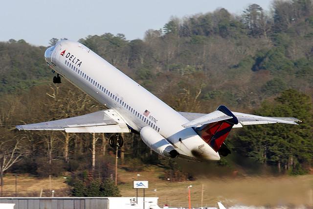 Delta Airlines McDonnell-Douglas DC-9-51 N787NC
