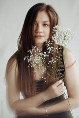 When the summer starts to sing (rennes_i) Tags: light portrait girl beautiful studio 50mm 85mm naturallight ukraine photoshot airy artisticportrait nikond3000 rennesi