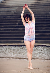 Lozie (DJt@lis) Tags: woman beach public girl beautiful pretty safe djtalis
