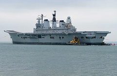 HMS ARK ROYAL (Rob_Pennycook) Tags: sad solent portsmouth royalnavy hmsarkroyal