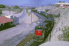 Cotton Belt-Southern At Yuma, Arizona (RailPhotos+) Tags: railroad train sp yuma southernpacific cottonbelt ssw yumaaz yumaarizona
