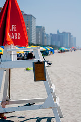 life guard (DigiDreamGrafix.com) Tags: travel sea summer vacation sun sunlight holiday tourism beach nature water beauty myrtlebeach surf south scenic southcarolina wave roadtrip scene resort springbreak tropical carolina backgrounds coastline summertime relaxation idyllic climate tranquil pursuit summervacation snowbirds familyvacation recreational destinations grandstrand