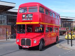 Midland Classic RM1168 Derby trentbarton 100 (Guy Arab UF) Tags: park bus classic buses royal routemaster 1962 derby midland lt rm aec rm1168 798uxa