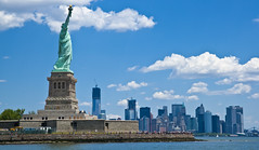 New York Manhattan Statue of Liberty all in one! (Paul in Leeds) Tags: new york statue liberty manhattan allinone