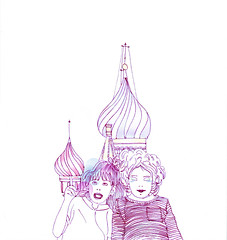 high Moscou (Daniele Dirio) Tags: illustration work dani dirio