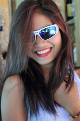 Liezel with sunglasses (#2) (Setiritter) Tags: girls portrait woman sexy beach girl beautiful sunglasses lady pretty artistic philippines diving resort filipina frau phl sonnenbrille visayas negros philippinen occidental schn negrosoccidental hbsch sipalay