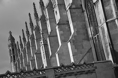 DSC_0712 [ps] - Lightness of Touch (Anyhoo) Tags: old uk cambridge england stone wall architecture gothic row kings repetition kingscollege parallel perpendicular cambridgeshire buttress finial kingsparade kingscollegechapel cambs buttresses kingscollegecambridge