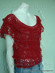 Bata Alicia (Agulhas Fashion da Patty) Tags: crochet blouse bata blusa croche