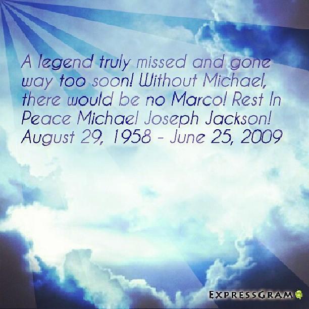 Rest In Peace, Michael Joseph Jackson! Five years gone too soon! #legend #idol #restinpeace #mj