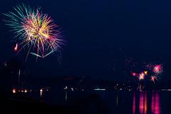 Happy fourth (haylee noelle) Tags: nightphotography beach night lights washington colorful bright fireworks explosion fourthofjuly sparks birchbay lightart lightwriting