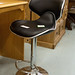 Bahama bar stool in various leatherette