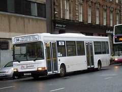 City Sprinter - T420 KAG (MSE062) Tags: city travel bus london scotland jj pointer glasgow united single dennis dart decker kag sprinter slf coatbridge plaxton mcnairn dp20 t420 t420kag