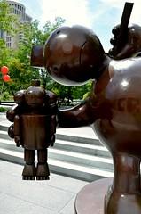 City Garden - St. Louis, Missouri (Adventurer Dustin Holmes) Tags: park sculpture art artwork downtown stlouis parks missouri stl sculptures stlouismissouri citygarden stlouismo urbanparks