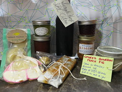 homemade trade club haul (stuffed-grapes) Tags: brewing baking homemade trading canning strawberryjam minimuffins preserving pickling lemoncookies tomatojam veganjerky singlehopipa homemadetrade lemonbasiljelly smokedbourbonpeachpie vegankimchi