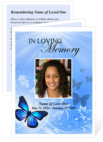 The world 39 s best photos by funeral program templates for Funeral remembrance cards template
