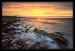 Logging Off (RattyBoots) Tags: longexposure sunset beach somerset kilve singleexposure lee3stopsoft hitecpro6stop silkywatercanon7dcanon1022