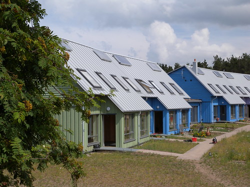 East Whins Ecovillage, Findhorn by John Gilbert Architects