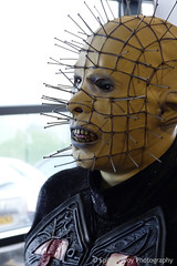 Pinhead (spikeybwoy - Chris Kemp) Tags: costumes cosplay convention scifi horror sciencefiction pinhead hellraiser clivebarker cenobite screamcon