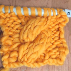 Sample for massive knit (lyndell23) Tags: costume knitting knit handknit knitted handknitting knittingforstage handknittedcostume