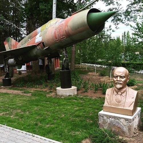 Ленин и самолет