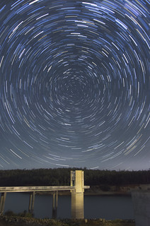 Star Trails - Serpentine Dam, Western Australia