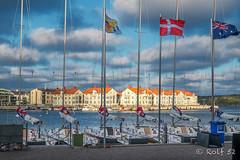 Resting regatta at Marstrand, Sweden (Rolf_52) Tags: sverige sommar