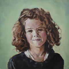 Roos (Martin-Jan van Santen) Tags: portrait art portraits portretten kunst paintings portret schilderijen