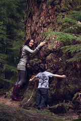Save our forests -selfie (Spruceroots) Tags: love forest child earth mother nativeamerican vancouverisland strength resistance indigenous clearcut oldgrowth selfie deforestation cree wetsuweten saveourforests