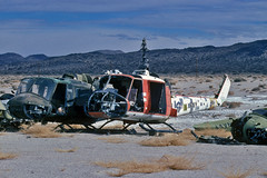 UH-1B Huey s/n 65-9506 (skyhawkpc) Tags: copyright bell aircraft aviation navy 1995 naval usnavy chinalake usn allrightsreserved uh1b arear airfoto th1l 157836 joecupido unkbuno iroquishuey 659506