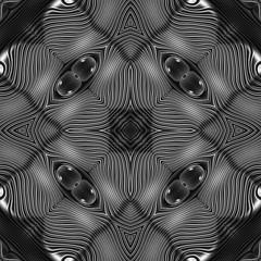 Moire Tiles (ArtGrafx) Tags: blackandwhite white black tile design pattern ornament moire seamless seamlesstile artgrafx