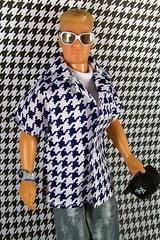 boy male guy toy toys doll dolls barbie kidrobot donnie adidas basics 1990s nkotb houndstooth donniewahlberg generationgirl 7toys7 oliviasdollcloset