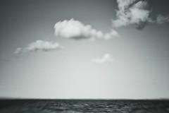 minimal seascape (kokorage) Tags: sea seascape blur lensbaby clouds noir natur blurred minimal unscharf composer minimalsim monchrome unschrfe blurism snapseed