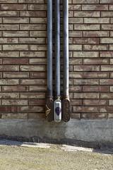 Brick Wall Utility Fixture (lopolis) Tags: urban brick texture wall pipes utility fixture canonef1635mmf28liiusm