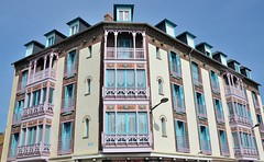 Mers-les-Bains (Somme) - Villas du centre ville (Morio60) Tags: 80 picardie somme merslesbains