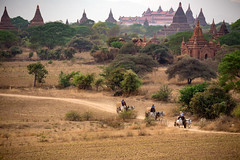 Bagan, Mandalay Myanmar (Sutipond Somnam) Tags: burma myanmar burmese pagoda myanmarflag yangon myanmarmap laos bagan vietnam cambodia mandalay oxcarts landscape asia southeastasia view countryside people poor localbumar lifestyle tradition faith hope service cow animal carts taxi travel tour