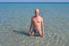 Villasimius (mikael_on_flickr) Tags: villasimius sardegna sardinia sardinien strand spiaggia meer mare hav sea bathing summer estate sommer mikael me i io ich moi ego self gay male man mann uomo homme hombre guy mec