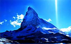Mighty Matterhorn (Film) (tsuping.liu) Tags: outdoor nature natureselegantshots naturesfinest mountain moment matterhorn sky serene landscape lighting